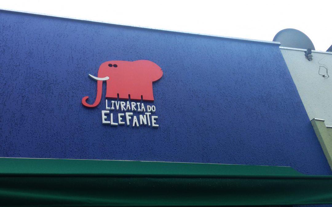Fachada Livraria do Elefante